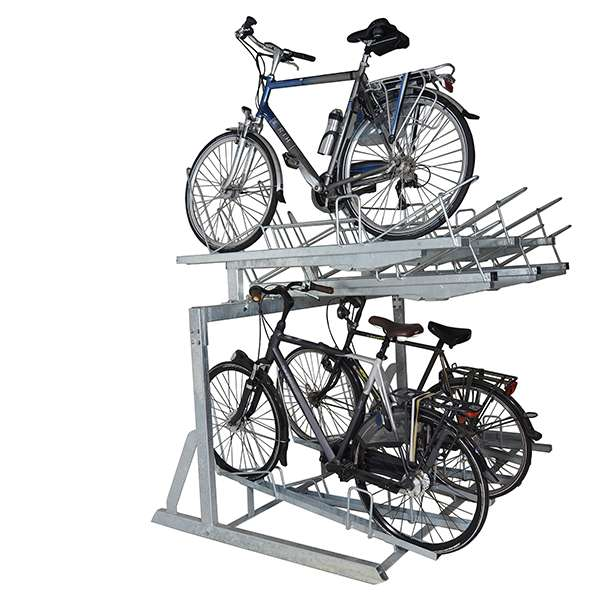 Cycle Parking | Compact Cycle Parking | FalcoLevel-Eco Two-Tier Cycle Parking | image #1 |