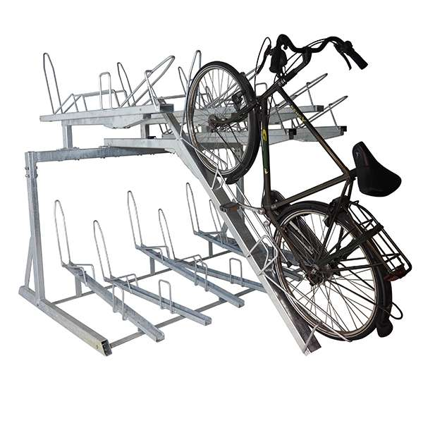 Cycle Parking | Compact Cycle Parking | FalcoLevel-Eco Two-Tier Cycle Parking | image #2 |