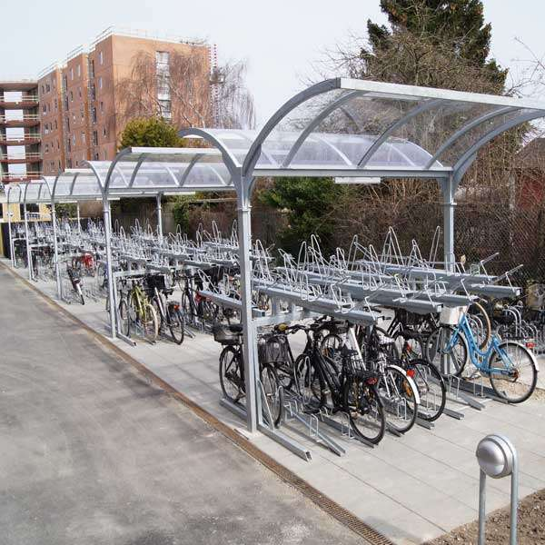 Cycle Parking | Compact Cycle Parking | FalcoLevel-Eco Two-Tier Cycle Parking | image #5 |