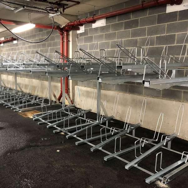 Cycle Parking | Compact Cycle Parking | FalcoLevel-Eco Two-Tier Cycle Parking | image #6 |