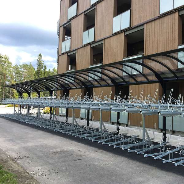 Cycle Parking | Compact Cycle Parking | FalcoLevel-Eco Two-Tier Cycle Parking | image #7 |