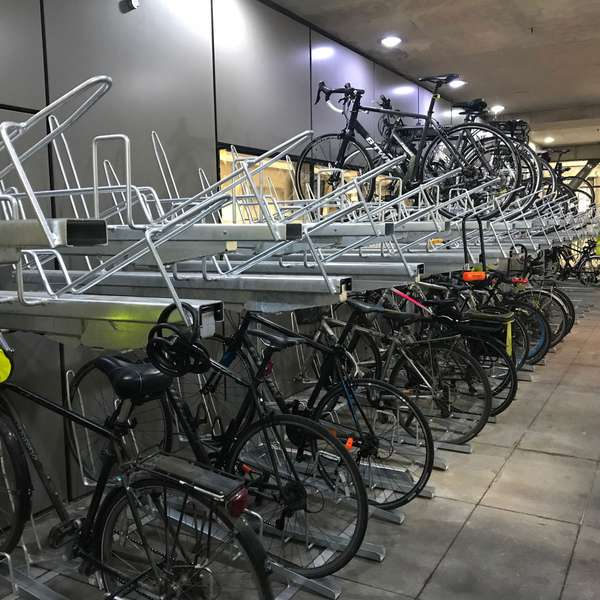 Cycle Parking | Compact Cycle Parking | FalcoLevel-Eco Two-Tier Cycle Parking | image #8 |