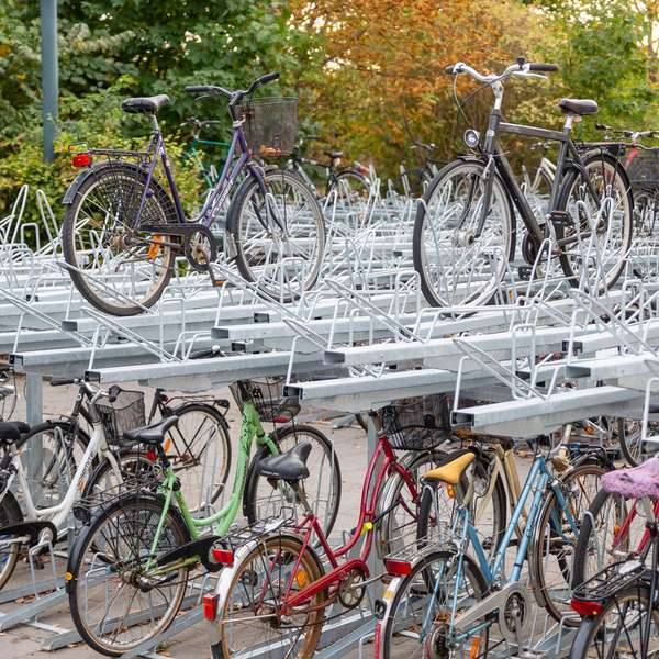 Cycle Parking | Compact Cycle Parking | FalcoLevel-Eco Two-Tier Cycle Parking | image #9 |