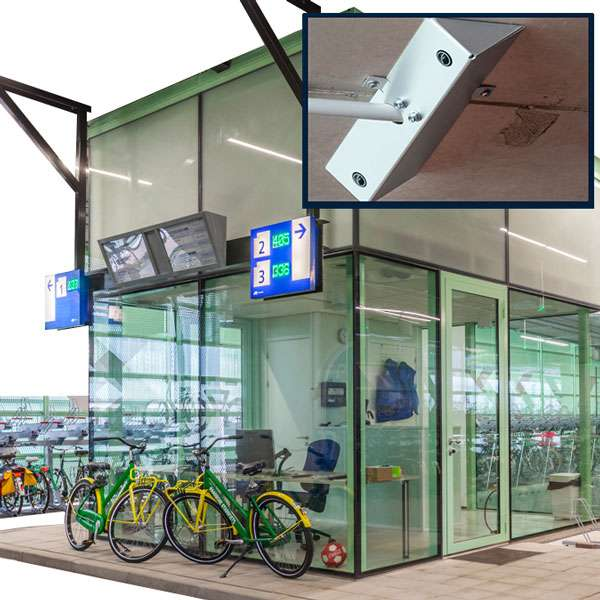 Cycle Hubs | Bicycle Detection and Monitoring Systems | VeloView Optical Sensors | image #1 |  Optical-Sensors