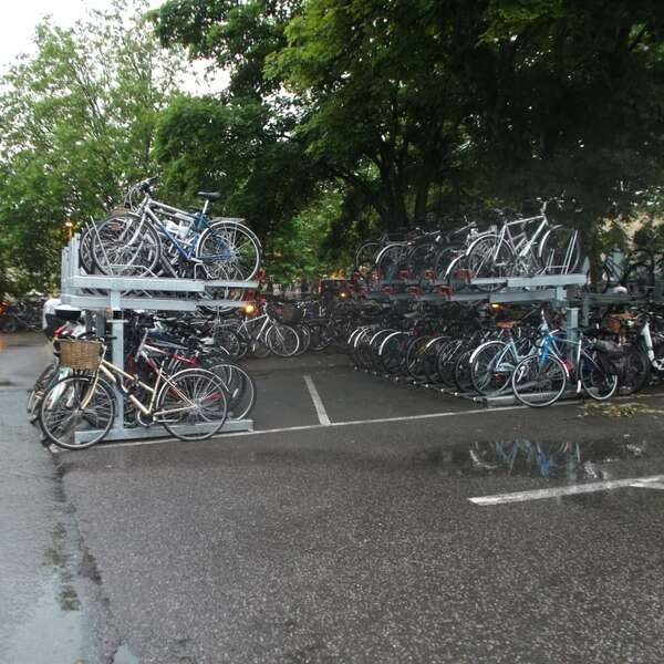 Falco Cycle Parking on Trial at Cambridge!