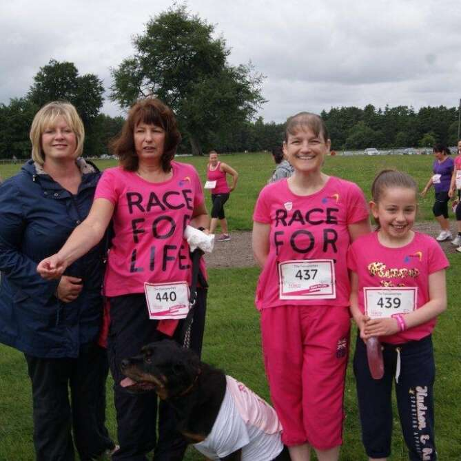 Falco Ladies Raise Over £1000 for the Race for Life!