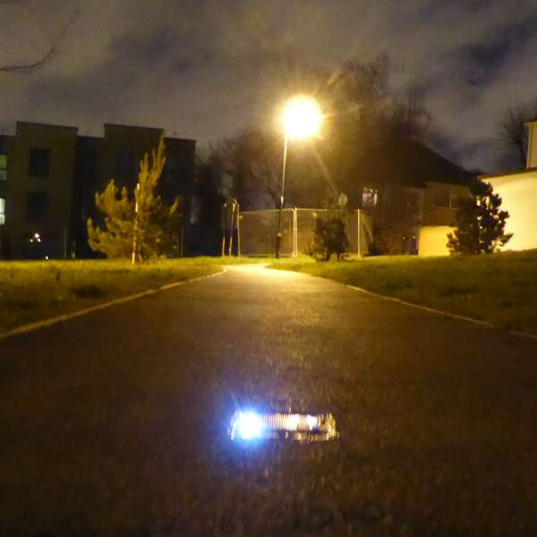 London Borough of Ealing - First UK Installation of FalcoPathfinder Solar Powered LED Cycle Path Lights