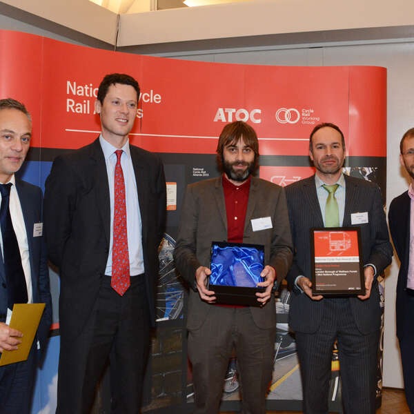 Falco Hubs Win Best London Cycle Parking at Cycle Rail Awards!