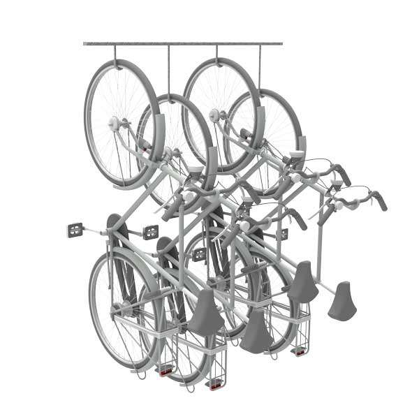 Cycle Parking | Cycle Racks | FalcoHook Suspended Cycle Rack | image #4 |