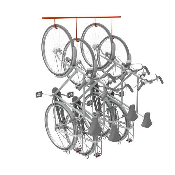 Cycle Parking | Cycle Racks | FalcoHook Suspended Cycle Rack | image #5 |