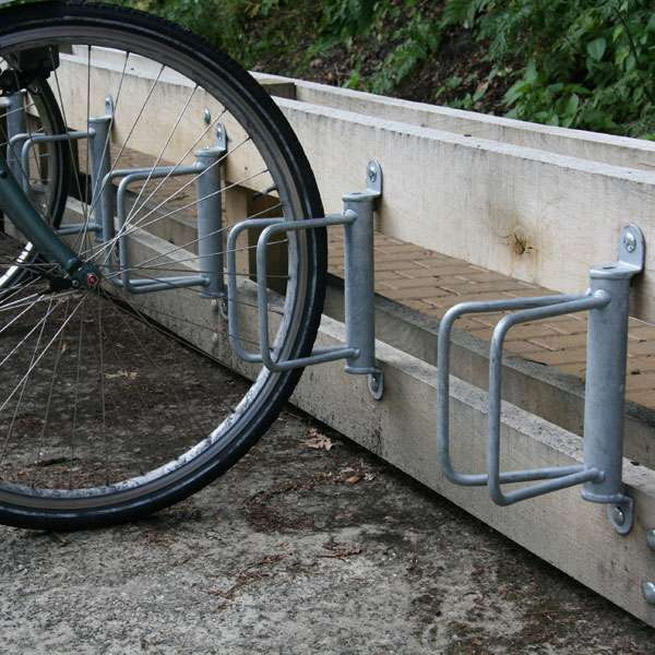Cycle Parking | Cycle Clamps | F-1 Cycle Wall Clamp | image #4 |