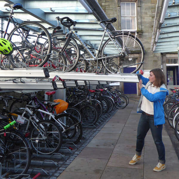 Falco Hits the 60,000 Mark for Two-Tier Cycle Racks!