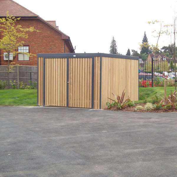 Shelters, Canopies, Walkways and Bin Stores | Storage Shelters | FalcoLok 300 Storage Shelter | image #2 |