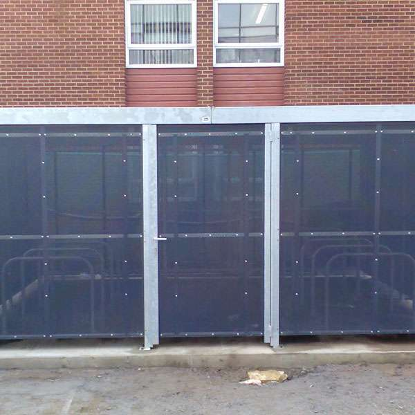 Shelters, Canopies, Walkways and Bin Stores | Storage Shelters | FalcoLok 300 Storage Shelter | image #3 |