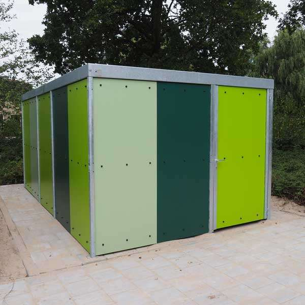 Shelters, Canopies, Walkways and Bin Stores | Storage Shelters | FalcoLok 300 Storage Shelter | image #7 |