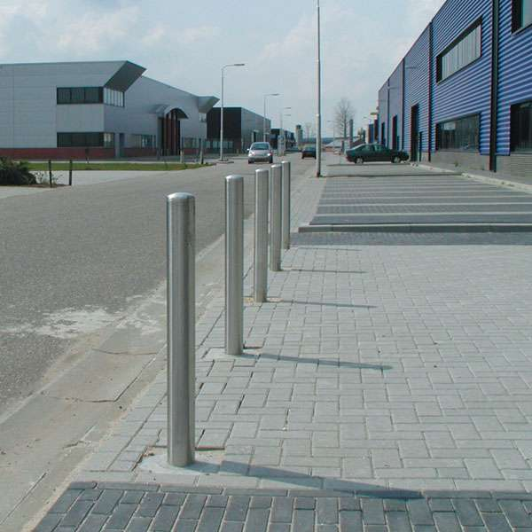 Street Furniture | Bollards and Traffic Guides | Stainless Steel Post Bollard | image #2 |