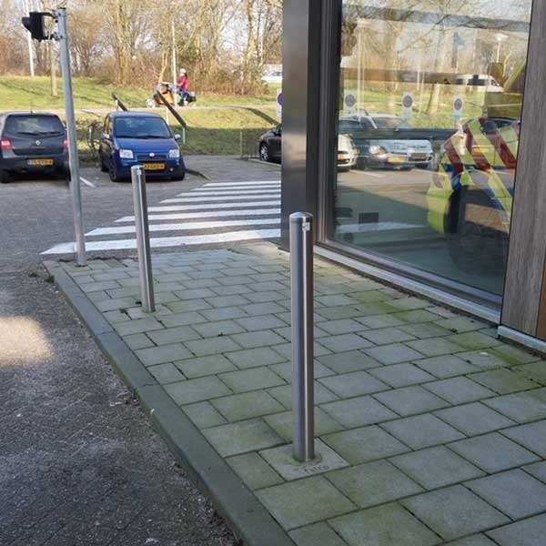 Street Furniture | Bollards and Traffic Guides | Stainless Steel Post Bollard | image #3 |