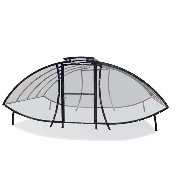 Shelters, Canopies, Walkways and Bin Stores | Cycle Shelters | FalcoSail Cycle Compound | image #1 |