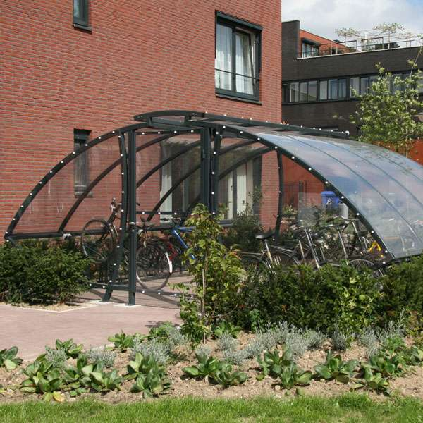 Shelters, Canopies, Walkways and Bin Stores | Cycle Shelters | FalcoSail Cycle Compound | image #2 |