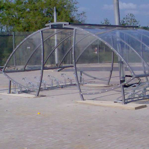 Shelters, Canopies, Walkways and Bin Stores | Cycle Shelters | FalcoSail Cycle Compound | image #3 |