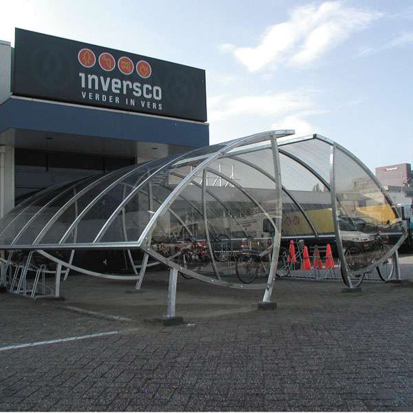 Shelters, Canopies, Walkways and Bin Stores | Cycle Shelters | FalcoSail Cycle Compound | image #4 |