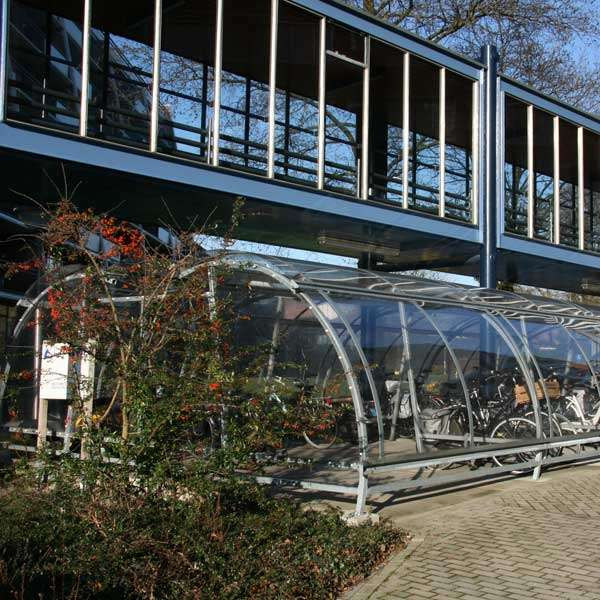Shelters, Canopies, Walkways and Bin Stores | Cycle Shelters | FalcoLite Cycle Compound | image #7 |
