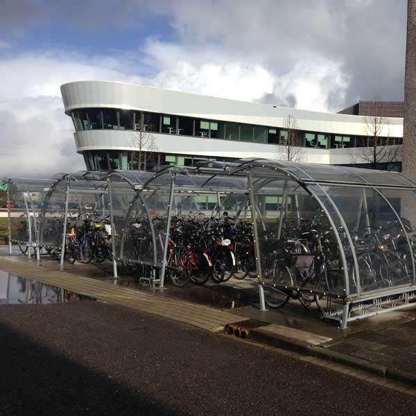 Shelters, Canopies, Walkways and Bin Stores | Cycle Shelters | FalcoLite Cycle Compound | image #8 |