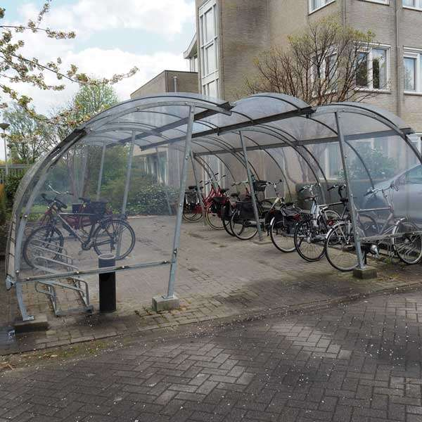 Shelters, Canopies, Walkways and Bin Stores | Cycle Shelters | FalcoLite Cycle Compound | image #9 |