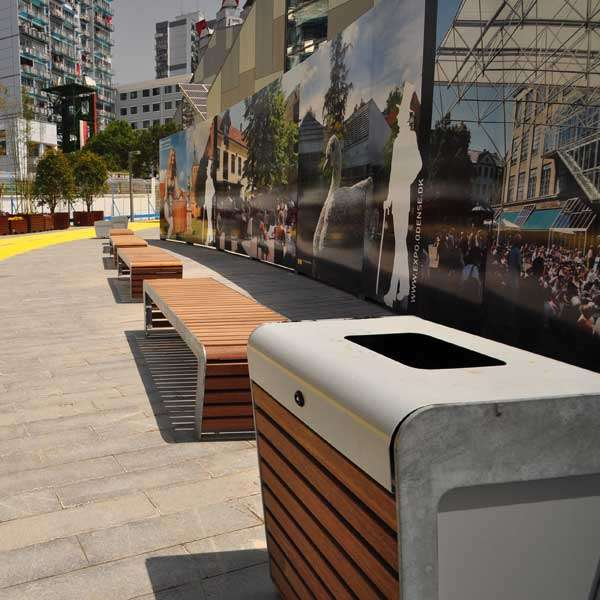 Street Furniture | Seating and Benches | FalcoLinea Bench | image #5 |