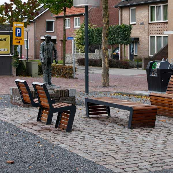 Street Furniture | Seating and Benches | FalcoLinea Bench | image #9 |