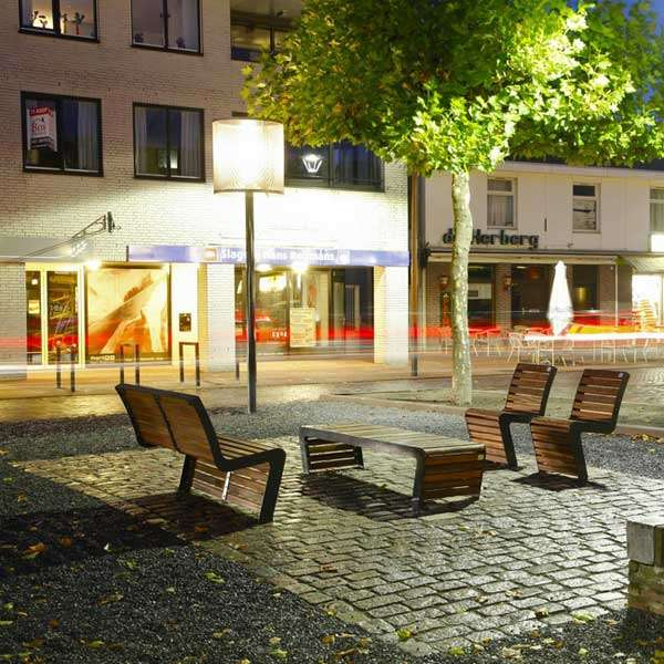 Street Furniture | Seating and Benches | FalcoLinea Bench | image #10 |