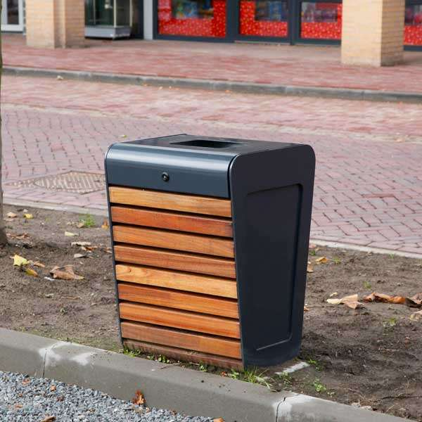 Street Furniture | Litter Bins | FalcoLinea Litter Bin | image #3 |