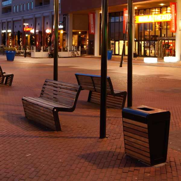 Street Furniture | Litter Bins | FalcoLinea Litter Bin | image #8 |