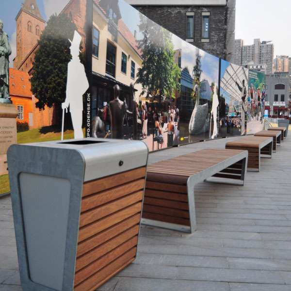 Street Furniture | Litter Bins | FalcoLinea Litter Bin | image #9 |