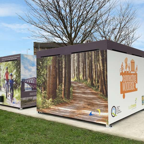 Shelters, Canopies, Walkways and Bin Stores | Storage Shelters | FalcoCrea and FalcoCrea+ Cycle Stores | image #3 |  Cycle Locker