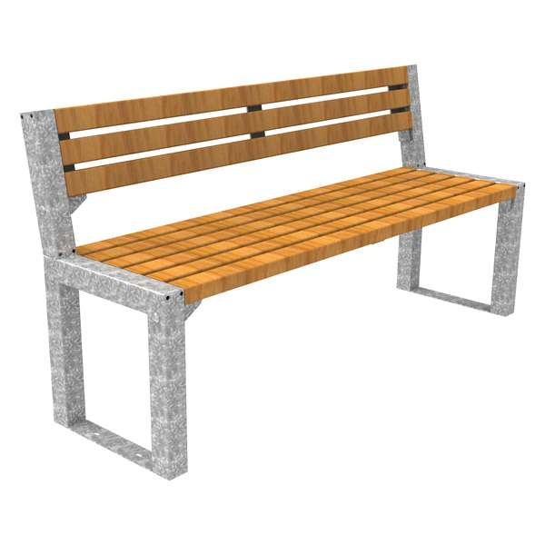 Street Furniture | Seating and Benches | FalcoAcero Seat (Hardwood) | image #1 |