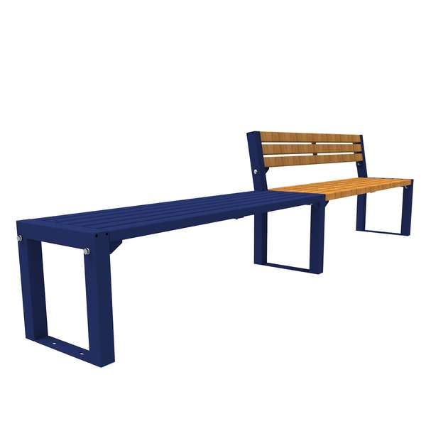 Street Furniture | Seating and Benches | FalcoAcero Seat (Hardwood) | image #6 |