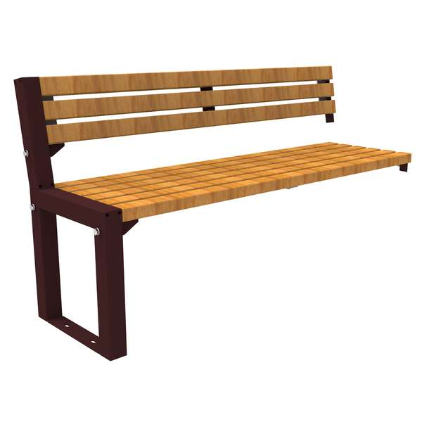 Street Furniture | Seating and Benches | FalcoAcero Seat (Hardwood) | image #5 |