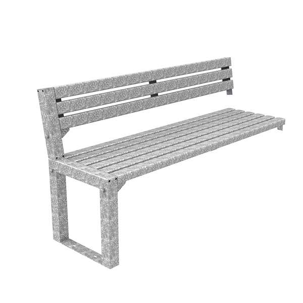 Street Furniture | Seating and Benches | FalcoAcero Seat (Steel) | image #3 |