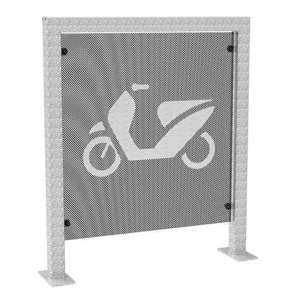 Cycle Parking | Advanced Cycle Products | FalcoScooter Demarcation Panels | image #1 |