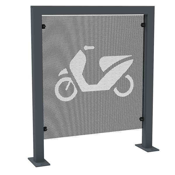 Cycle Parking | Advanced Cycle Products | FalcoScooter Demarcation Panels | image #2 |