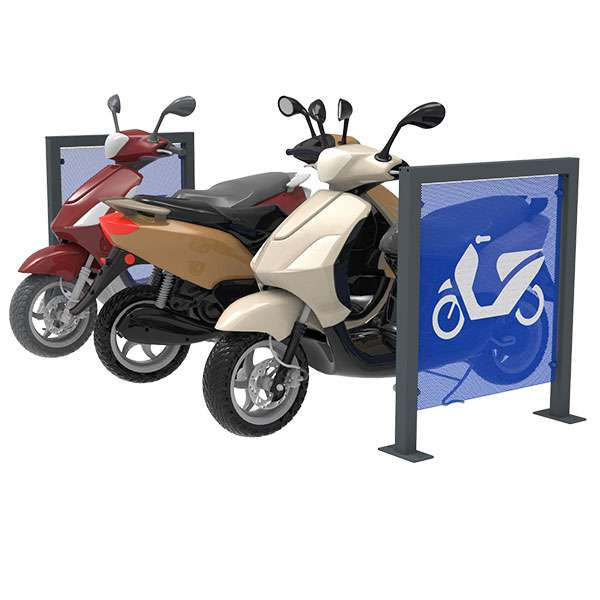 Cycle Parking | Advanced Cycle Products | FalcoScooter Demarcation Panels | image #4 |