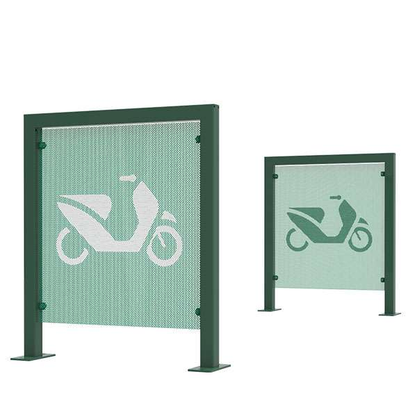 Cycle Parking | Advanced Cycle Products | FalcoScooter Demarcation Panels | image #3 |