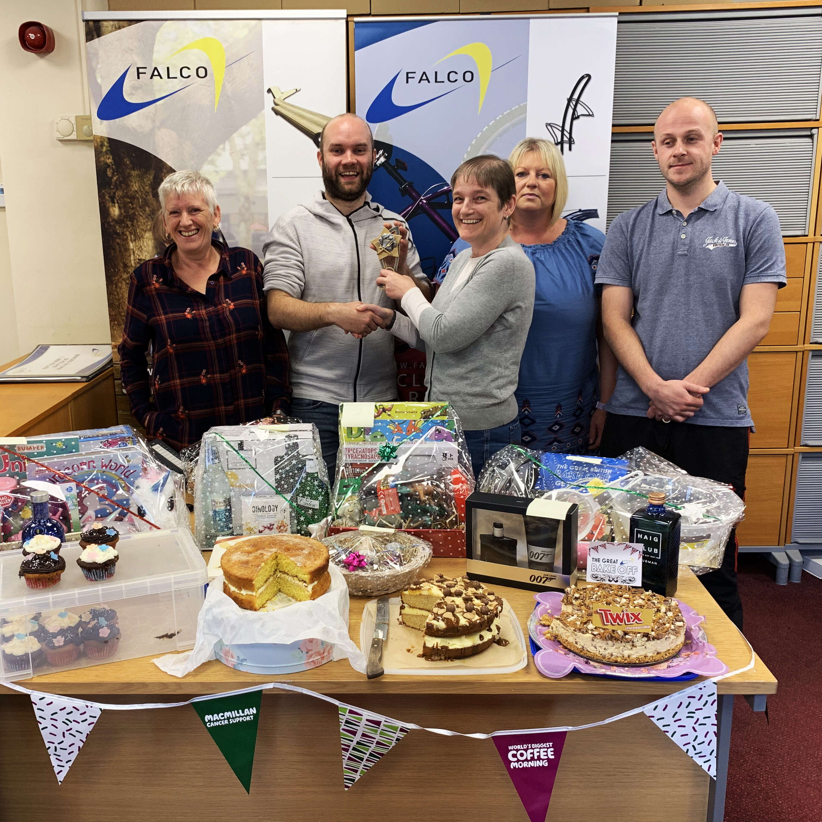 MacMillan Coffee Morning - Falco UK Ltd
