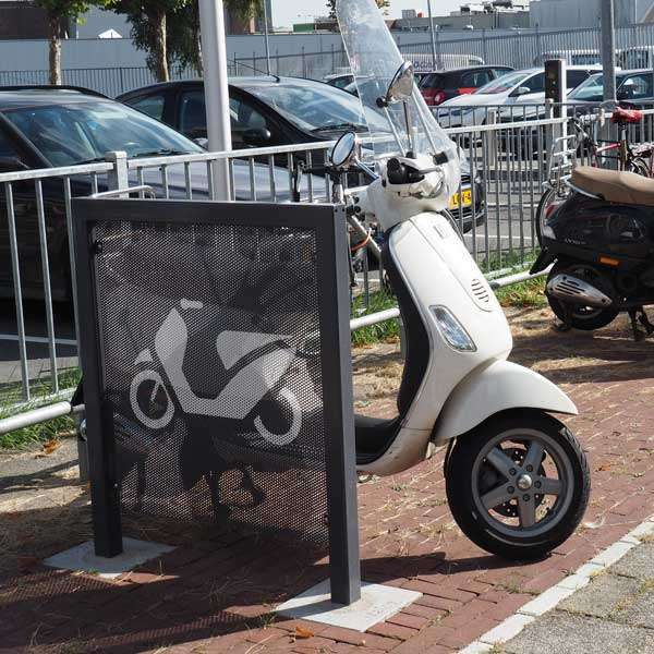Cycle Parking | Advanced Cycle Products | FalcoScooter Demarcation Panels | image #8 |