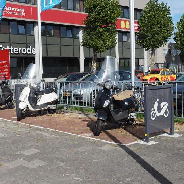 Cycle Parking | Advanced Cycle Products | FalcoScooter Demarcation Panels | image #7 |