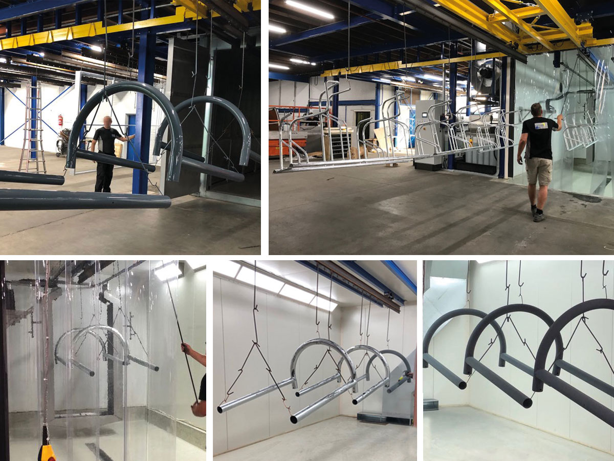 Falco Installs Its Own In-house Powder Coating Facility