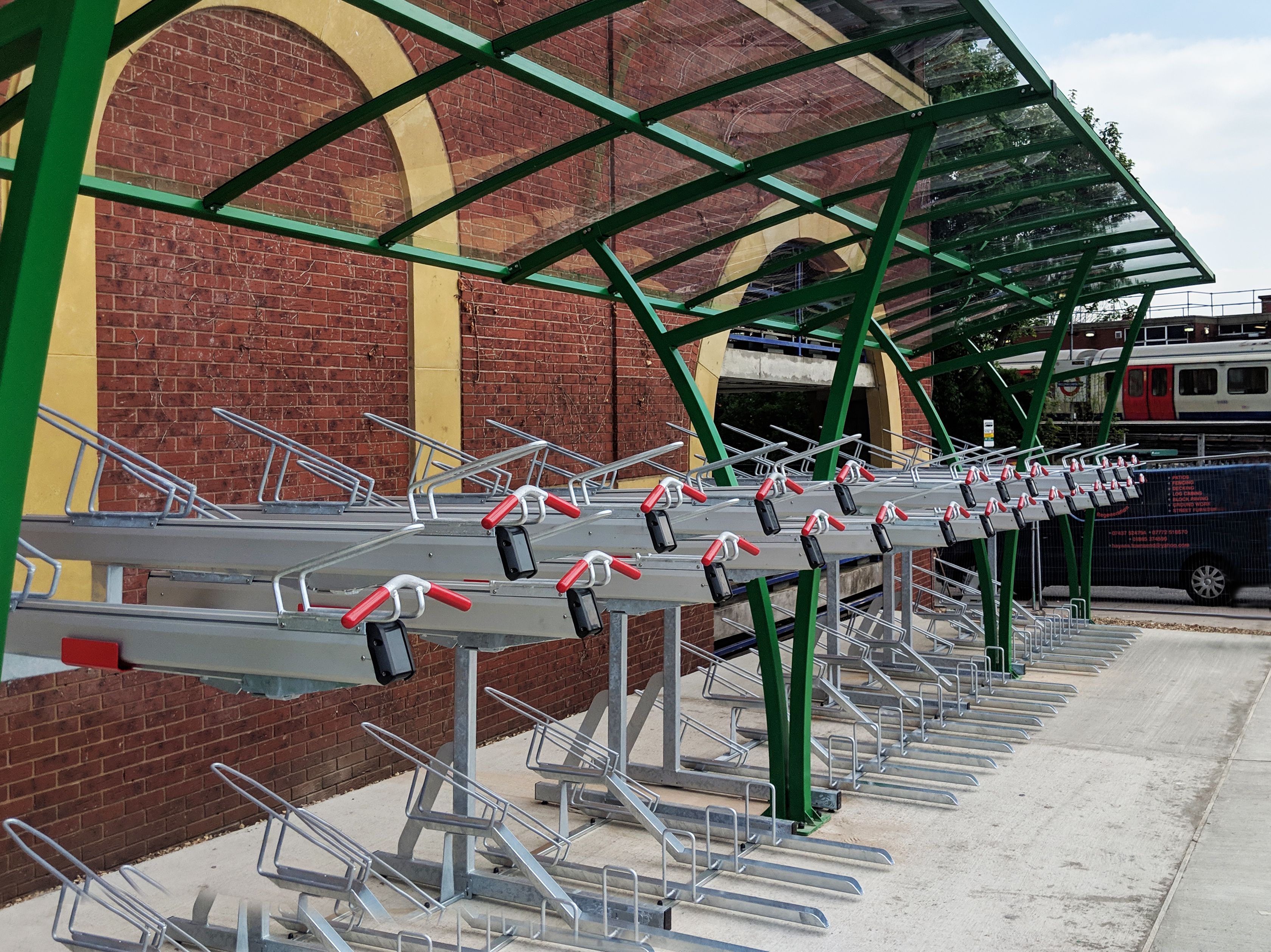 Two-Tier Cycle Parking Racks