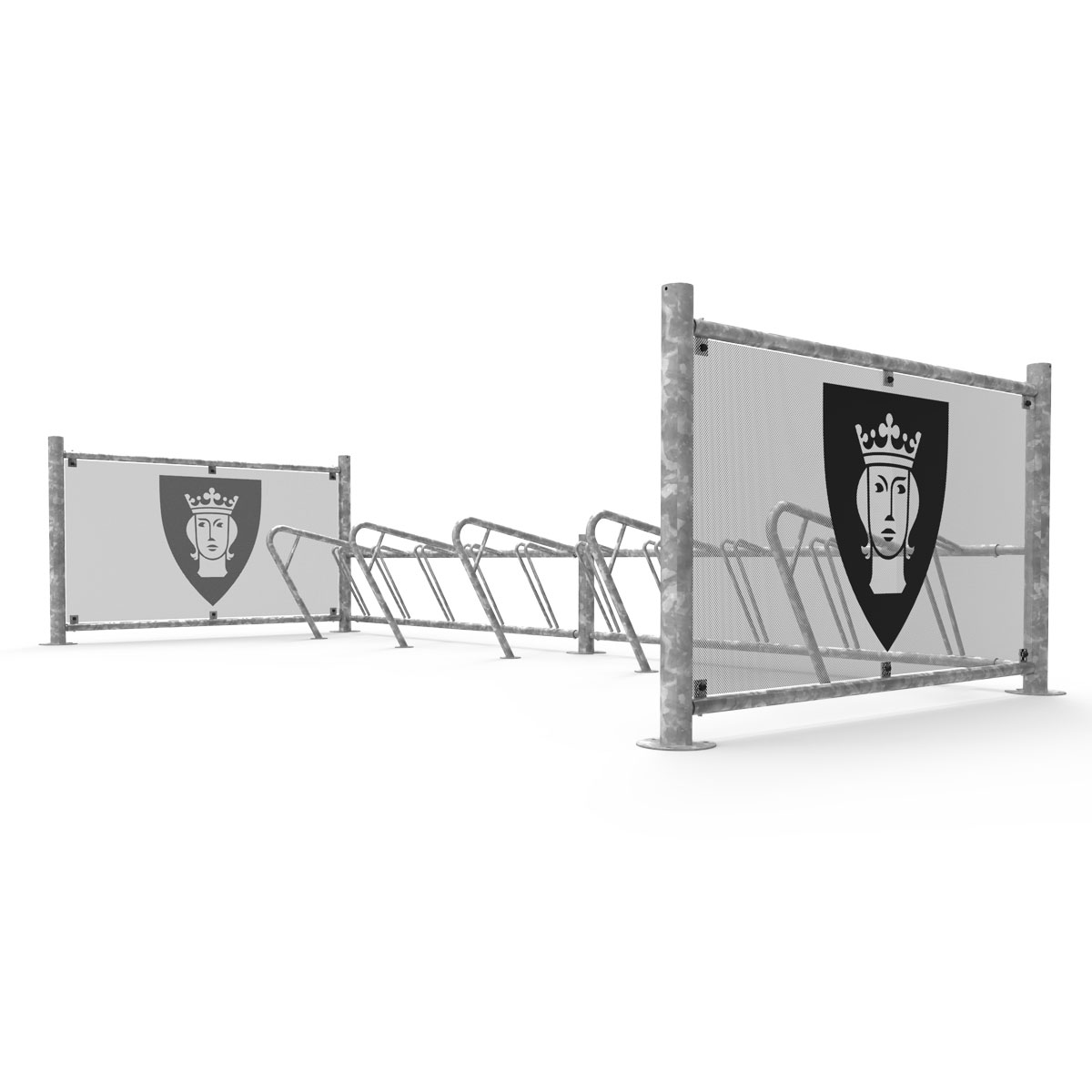 FalcoPrior Cycle Rack and Enclosure